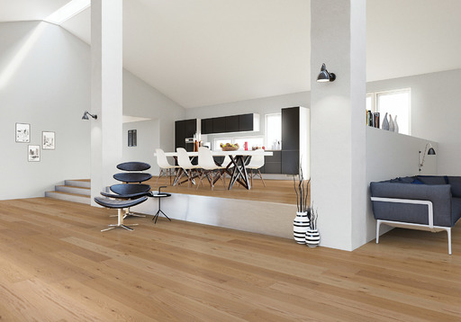 Junckers Solid Oak Boulevard Wood Flooring, Harmony, Oiled, 185x20.5 mm Image 2