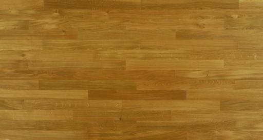 Junckers Solid Oak 2-Strip Flooring, Ultra Matt Lacquered, Classic, 129x22 mm Image 1