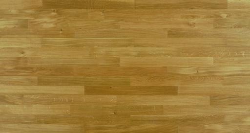 Junckers Solid Oak 2-Strip Flooring, Silk Matt Lacquered, Classic, 129x14 mm Image 5