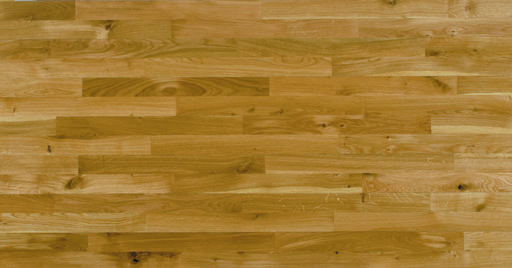 Junckers Solid Oak 2-Strip Flooring, Ultra Matt Lacquered, Harmony, 129x14 mm Image 5