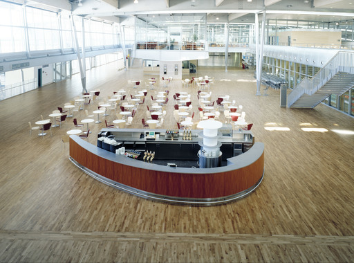 Junckers Solid Oak 2-Strip Flooring, Silk Matt Lacquered, Harmony, 129x22 mm Image 2