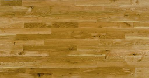 Junckers Solid Oak 2-Strip Flooring, Silk Matt Lacquered, Harmony, 129x22 mm Image 1