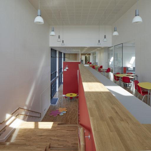 Junckers Solid Oak 2-Strip Flooring, Untreated, Harmony, 129x14 mm Image 1