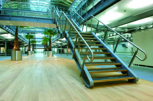 Junckers Solid Oak Plank Flooring, Ultra Matt Lacquered, Classic, 129x20.5 mm Image 1