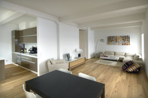 Junckers Solid Oak Flooring, Untreated, Classic, 140x20.5 mm Image 1