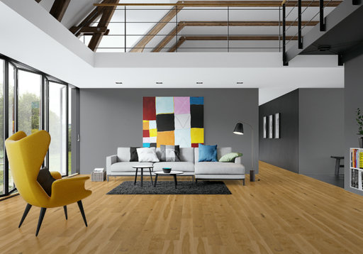Junckers Solid Oak Wood Flooring, Oiled, Variation, 140x20.5 mm Image 5