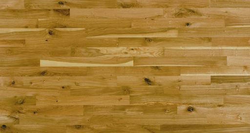 Junckers Solid Oak 2-Strip Flooring, Oiled, Variation, 129x22 mm Image 1