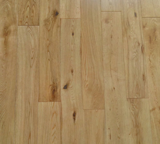 Tradition Engineered Oak Flooring, Rustic, Lacquered, 125x5x18 mm Image 1