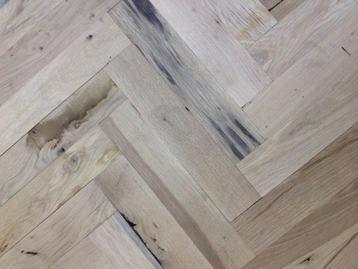 Oak Parquet Flooring Blocks, Rustic Extra, 70x280x20 mm Image 1