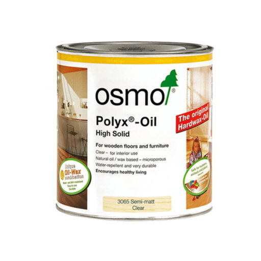 Osmo Polyx-Oil Hardwax-Oil, Original, Satin Finish, 2.5L Image 1