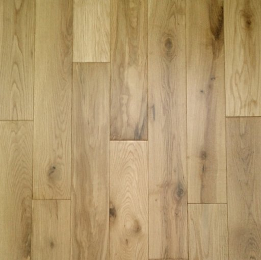 Tradition Solid Oak Flooring, Rustic, Lacquered, 125x18 mm Image 2