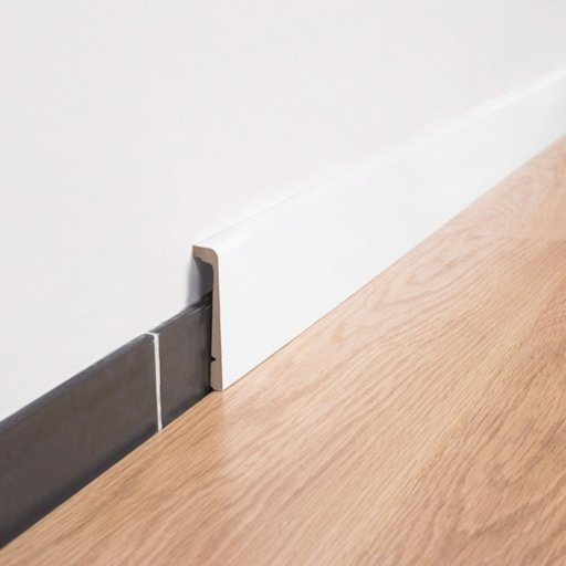 QuickStep Paintable Skirting, 2.4 m Image 1