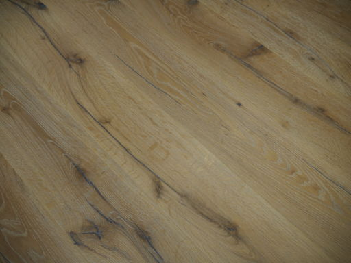 Tradition Antique Oak Engineered Flooring, Rustic, Distressed, Brushed, White, 1900x20x190 mm Image 1