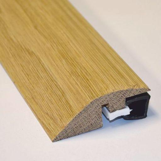 Unfinished Solid Oak Reducer Threshold, 20 mm, 90 cm Image 1