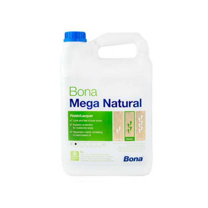 Bona Mega Natural Varnish, 5 L Image 1