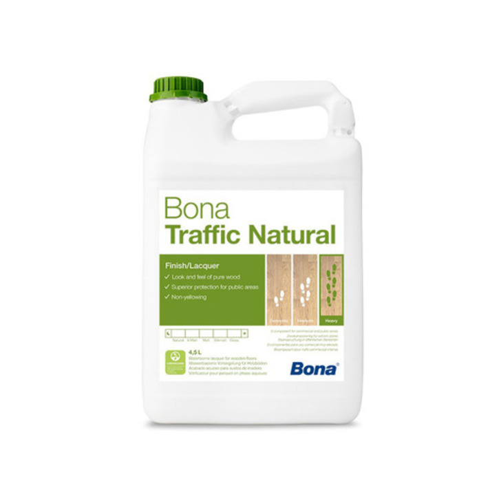 Bona Traffic Natural, 5L Image 1