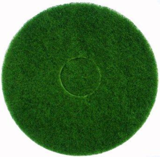 Bona Buffing Cleaning Pads, Green, Pack of 5, 407 mm Image 1