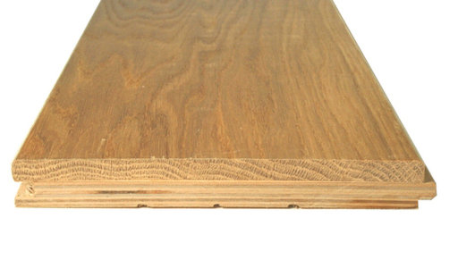 Tradition Unfinished Engineered Oak Flooring, Rustic, 190x6x20 mm Image 3
