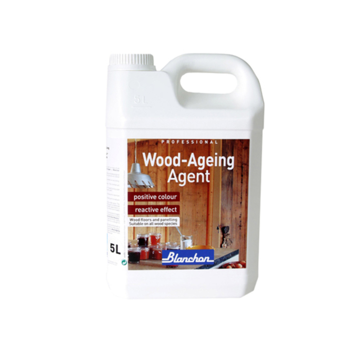 Blanchon Wood-Ageing Agent Linen Grey, 5L