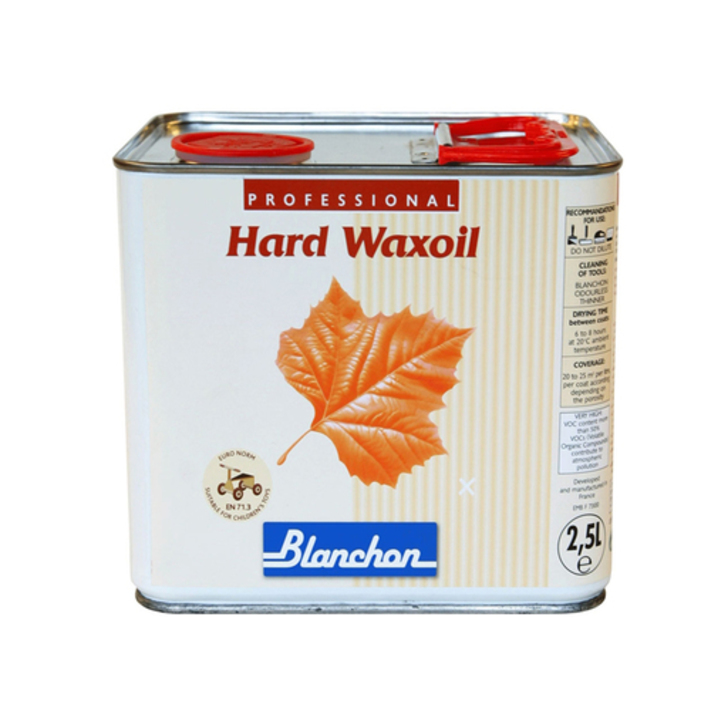 Blanchon Hardwax-Oil, Metallic Grey, 2.5 L
