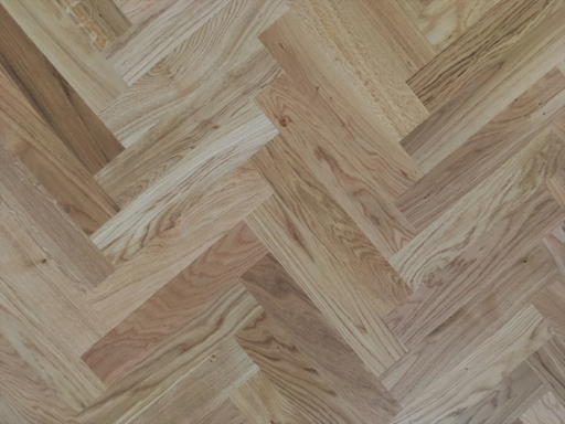 Tradition Classics Herringbone Engineered Oak Flooring, Rustic, Lacquered, 70x11x350 mm