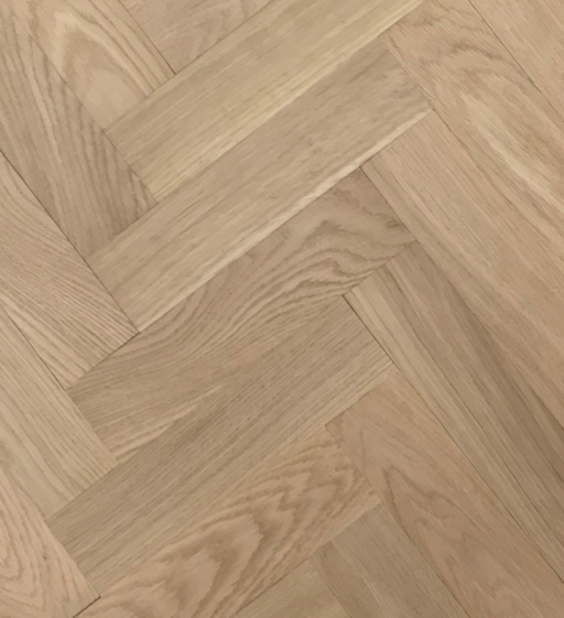 Tradition Classics Herringbone Engineered Oak Parquet Flooring, Unfinished, Prime, 70x11.4x350 mm