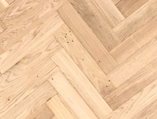 Tradition Classics Herringbone Engineered Oak Parquet Flooring,Unfinished, Rustic, 70x11.4x350 mm