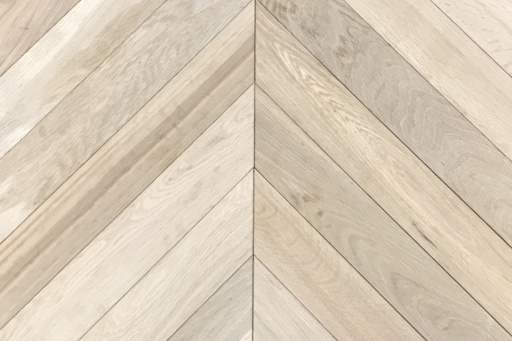 Tradition Classics Chevron Engineered Oak Flooring, Rustic, Unfinished, 90x15x540 mm