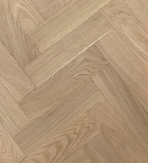 Tradition Classics Herringbone Engineered Oak Parquet Flooring, Unfinished, Prime, 70x20.6x280 mm