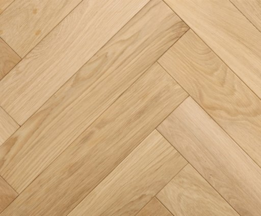 Tradition Classics Engineered Oak Parquet Flooring, Herringbone, Prime, Unfinished, 100x20.6x500 mm