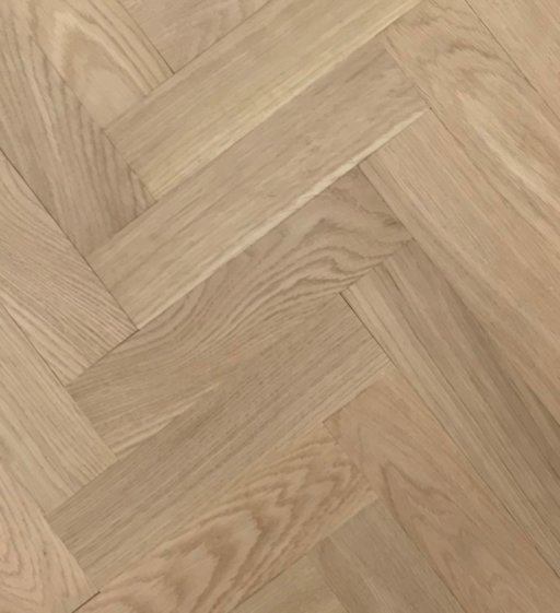 Tradition Classics Herringbone Engineered Oak Parquet Flooring, Unfinished, Prime,70x20.6x350 mm