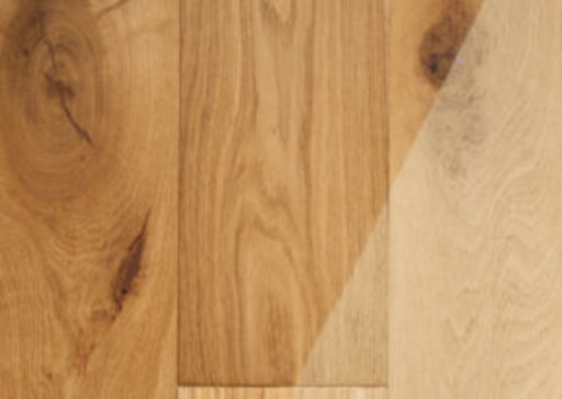 Tradition Classics Brushed Oak Engineered Flooring, Rustic, Unfinished, 190x14x1900 mm