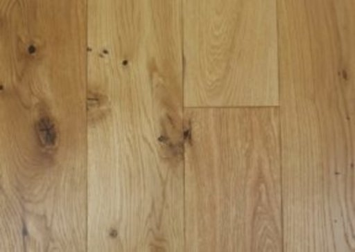 Tradition Classics Oak Engineered Flooring, Rustic, Brushed, Matt Lacquered, 14x3x125 mm