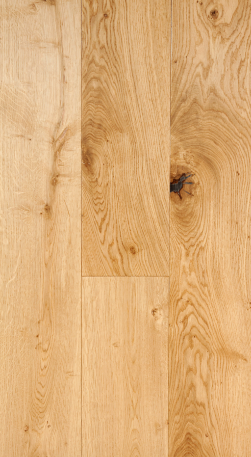 Tradition Classic Engineered Oak Flooring, Rustic, UV Lacquered, 190x20x1900 mm