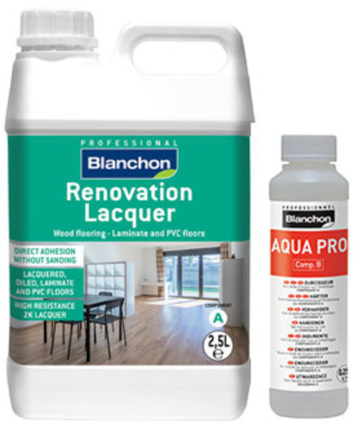 Blanchon Renovation Two-Component Lacquer, Satin, 2.5L