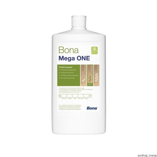 Bona Mega One, Silk Matt Varnish, 1L