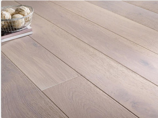 Chene Engineered Oak Flooring, White Oiled, 150x3x14 mm