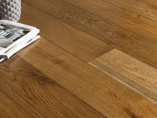 Chene Smoked Oak Engineered Flooring, 220x4x15 mm