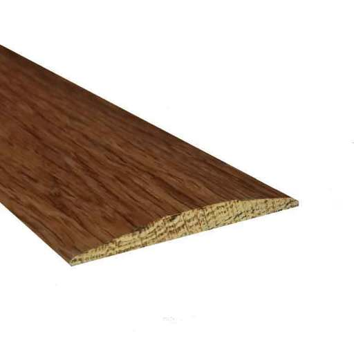 Solid Smoked Oak Flat Threshold Strip, Lacquered, 0.9 m