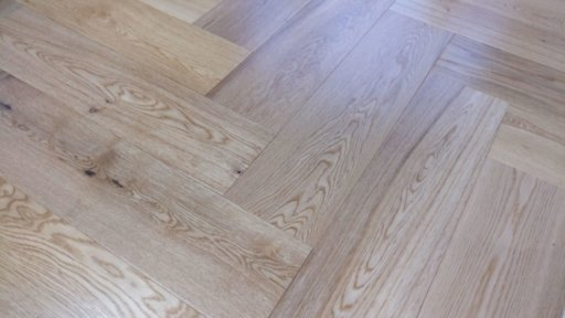 Tradition Engineered Oak Parquet Flooring, Herringbone, Natural, Lacquered, 150x14x600 mm