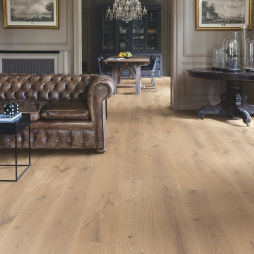QuickStep Imperio Genuine Oak Extra Matt Engineered Flooring, Matt Lacquered, 220x3x14 mm
