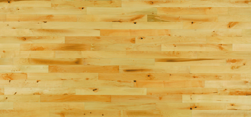 Junckers Beech Solid 2-Strip Wood Flooring, Untreated, Variation, 129x22 mm