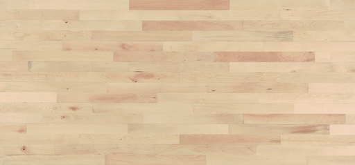 Junckers Nordic Beech Solid 2-Strip Wood Flooring, Ultra Matt Lacquered, Harmony, 129x22 mm