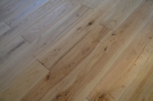 Tradition Engineered Oak Flooring, Natural, Brushed, Lacquered, 125x3x14 mm