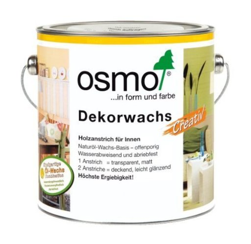 Osmo Wood Wax Finish Creative, Snow , 0.75L