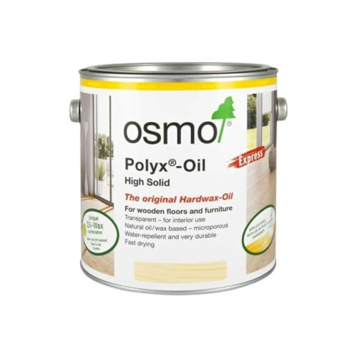 Osmo Polyx-Oil Hardwax-Oil, Express, Clear Satin, 10L