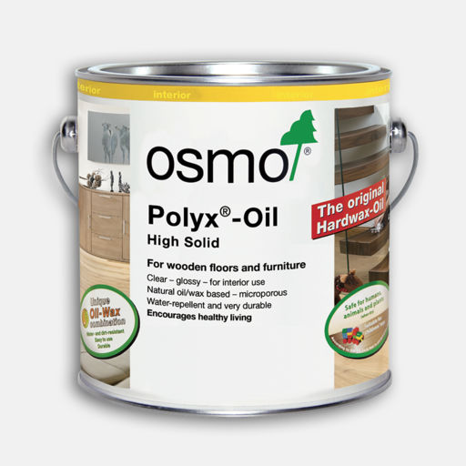 Osmo Polyx-Oil Hardwax-Oil, Original,  Semi Matt Finish, 0.75L