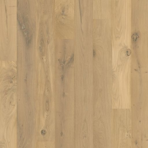 QuickStep Castello Raw Oak Engineered Flooring, Brushed, Extra Matt Lacquered, 145x14x1820 mm