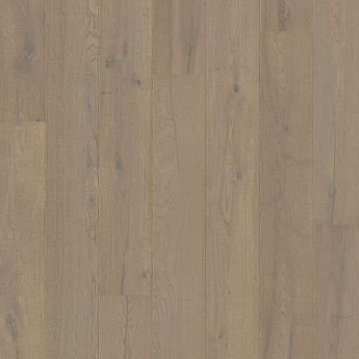 Quickstep Compact Grande Cotton Grey Oak Engineered Flooring, Deep Brushed & Extra Matt Lacquered, 190x12.5x1820 mm