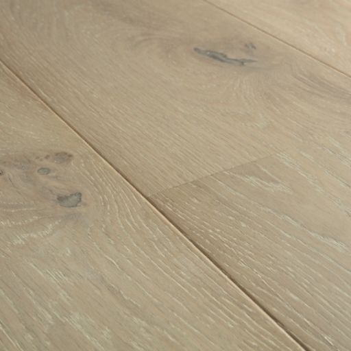 Quickstep Compact Grande Light Storm Oak Engineered Flooring, Brushed & Extra Matt Lacquered, 190x12.5x1820 mm